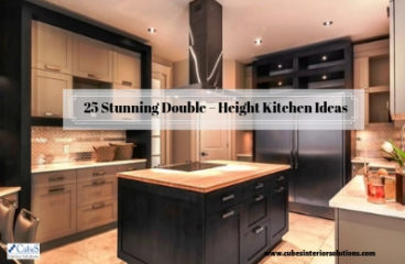 25 Stunning Double – Height Kitchen Ideas