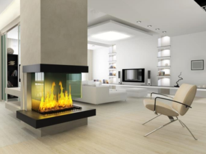 Contemporary fire places
